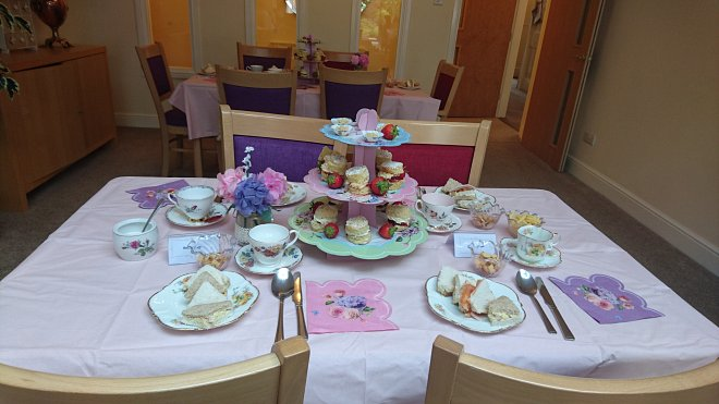 Our Vintage Tea Party
